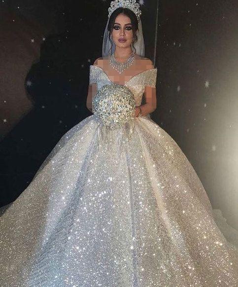 لباس عروس پفی شایندار