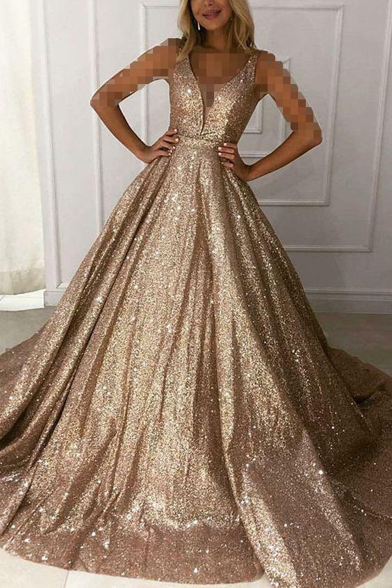 لباس عروس شاین پفی
