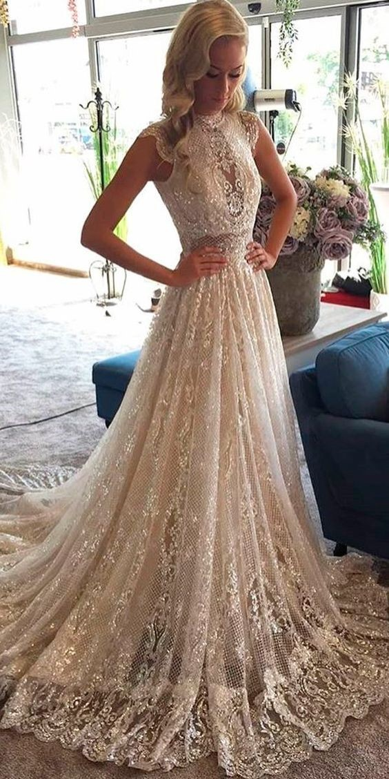 سفید طلایی روشن (شامپاینی) رنگی برای لباس عروس