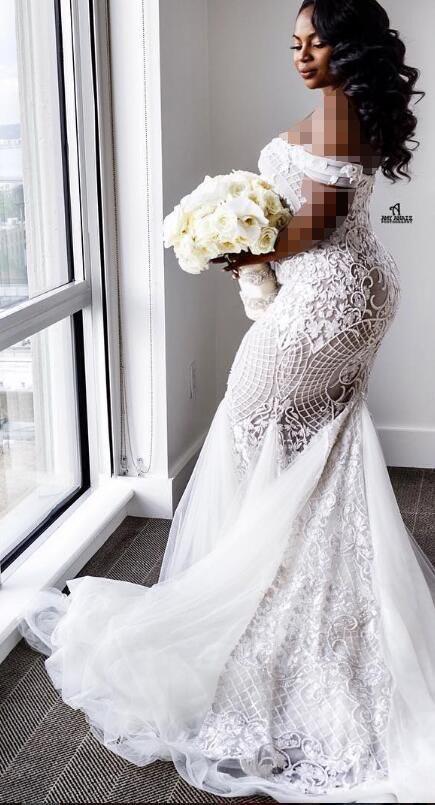 مدل لباس عروس برای چاقی باسن و رانها