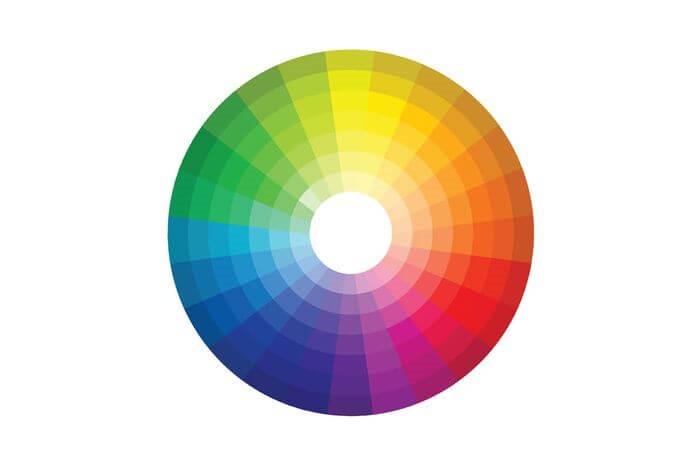 به رنگ ها و الگوها توجه کنید