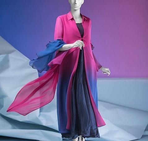 مانتو ترکیبی جدید 2019 و 98 (100 مدل مانتوی دو رنگ، پارچه گیپور، ریون، حریر)