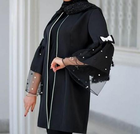 مدل آستین مانتو لاکچری